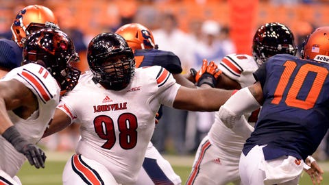 Atlantic Sacks: Sheldon Rankins, Senior, Louisville (8.0)