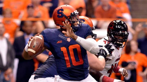 Tim Lester, offensive coordinator, Syracuse