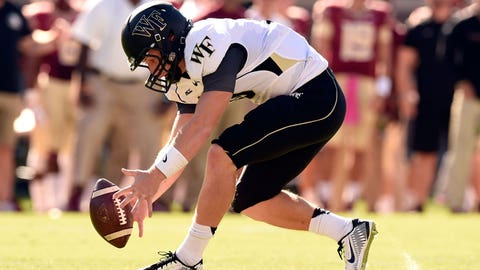 Wake Forest Demon Deacons: 3.5 wins (2014 record: 3-9)