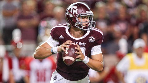4. Kyle Allen, So.,Texas A&M