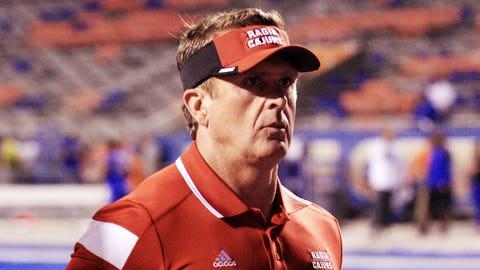 Louisiana-Lafayette coach Mark Hudspeth