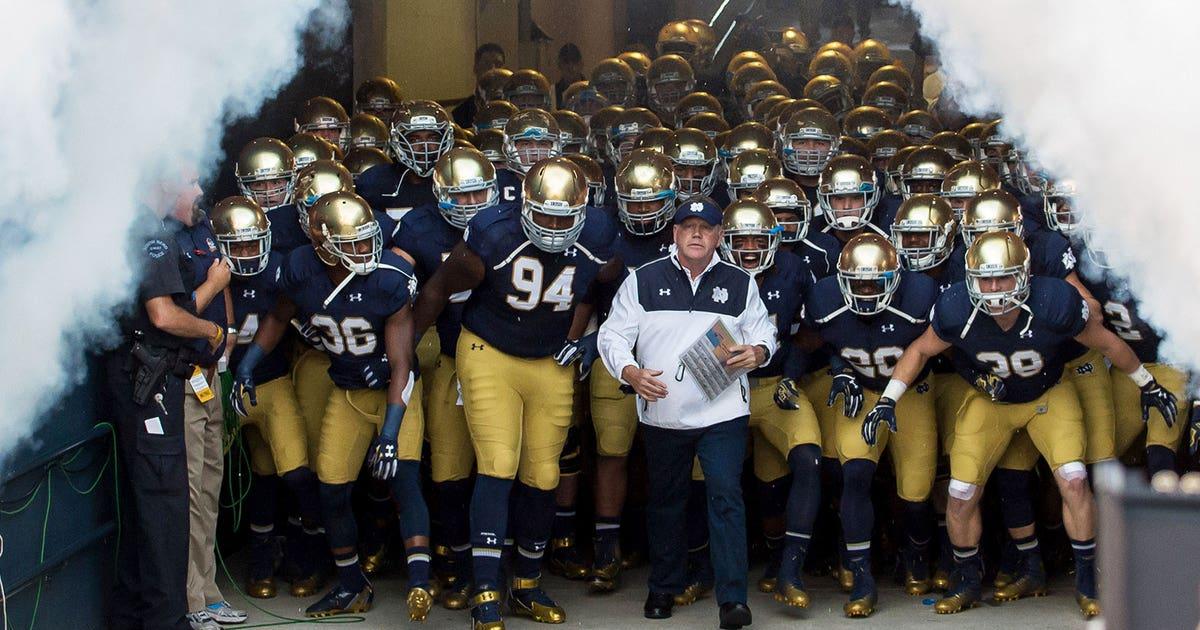 Notre Dame Coach Brian Kelly Announces Team Motto For 2015