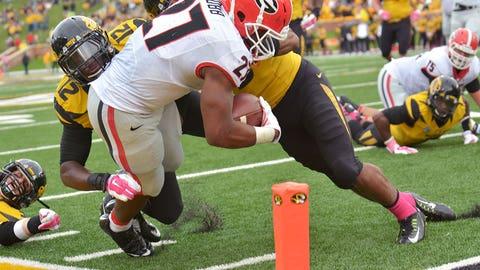Winner: Nick Chubb, RB, Georgia