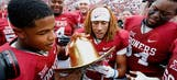 College football's most unique rivalry trophies
