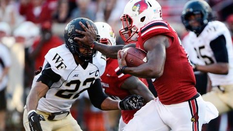 Atlantic Tackles: Ryan Janvion, Junior, Wake Forest (118)