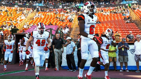 12. Oregon State: All white