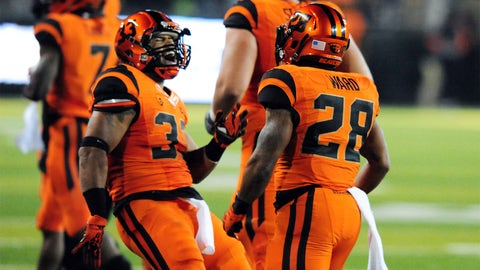 3. Oregon State: Everything orange