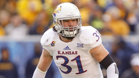 Round 7: Ben Heeney, ILB, Kansas