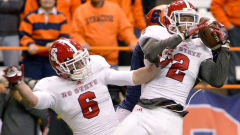 Atlantic Interceptions: Josh Jones, Sophomore, N.C. State (4)
