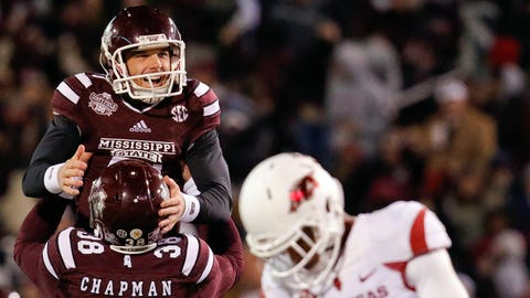 Mississippi State Bulldogs — kicker