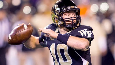 13. John Wolford, So., Wake Forest Demon Deacons
