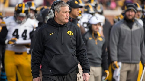 9. Kirk Ferentz, Iowa (115-85, 16 seasons)