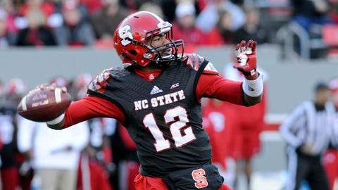 5. Jacoby Brissett, Sr., NC State Wolfpack