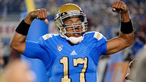 Round 5, Pick 147: Brett Hundley, QB, UCLA
