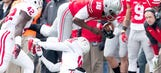 Jalin Marshall has 4-TD day as No. 6 Ohio State tops Indiana