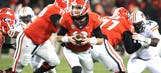 Georgia to play two QBs against Auburn
