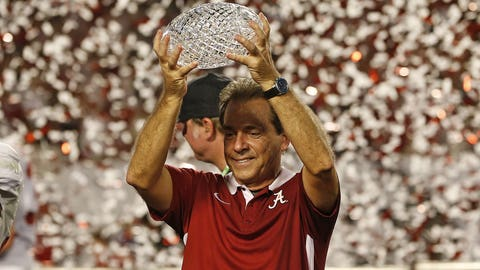 Nick Saban — Alabama Crimson Tide