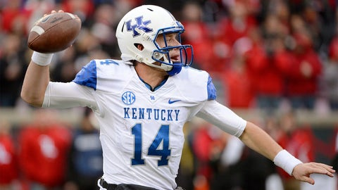 7. Patrick Towles, Jr., Kentucky