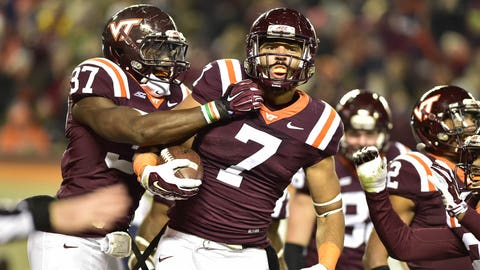 Bucky Hodges, Virginia Tech, TE