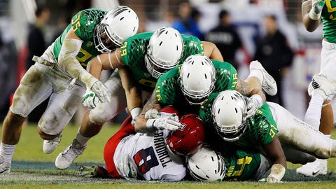 Arizona vs. Oregon