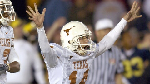 3. 2005 Rose Bowl: No. 4 Texas 38, No. 13 Michigan 37
