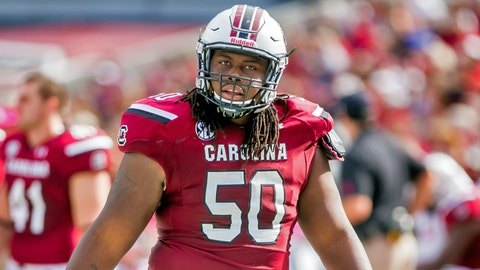 G: A.J. Cann, South Carolina (2nd: Laken Tomlinson, Duke)