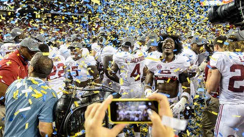 December top story: Dec. 7 -- First college football playoff pairings announced