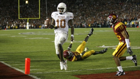 1. 2006 Rose Bowl: No. 2 Texas 41, No. 1 USC 38