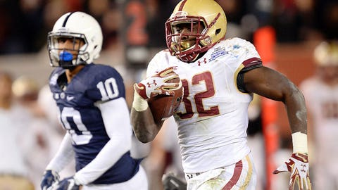 RB Jon Hilliman, So., Boston College | Third Team All-ACC