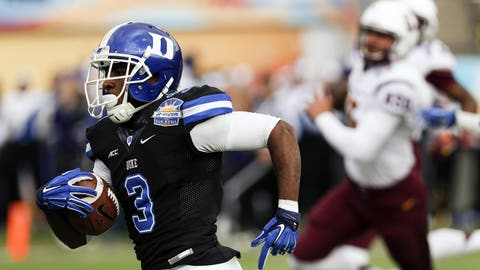 Round 4: Jamison Crowder, wide receiver, Duke