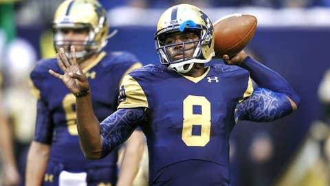 11. Malik Zaire, QB, Notre Dame