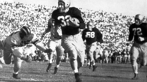 1947: Johnny Lujack, Notre Dame