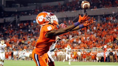 CLEMSON WIDE RECEIVER MIKE WILLIAMS