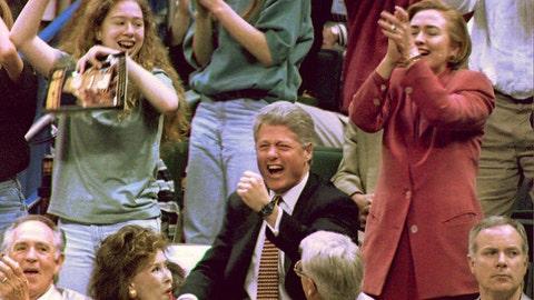 Bill Clinton -- Arkansas Razorbacks