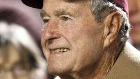 George H.W. Bush -- Texas A&M Aggies