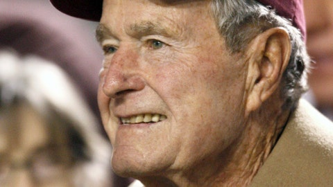 George H.W. Bush -- Texas A&M Aggies