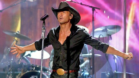 Tim McGraw -- LSU Tigers