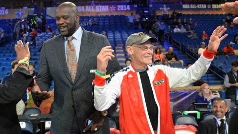 James Carville & Shaq -- LSU Tigers