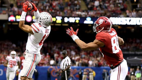 2015 - Ohio State defeats Alabama to advance to the title game