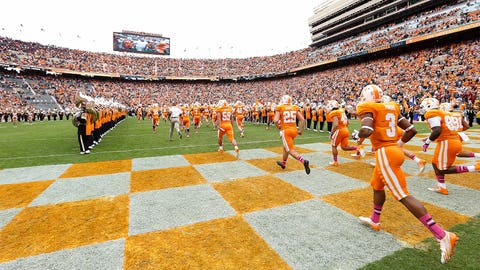 Tennessee Volunteers: 4,588 sq. ft; 124 x 37