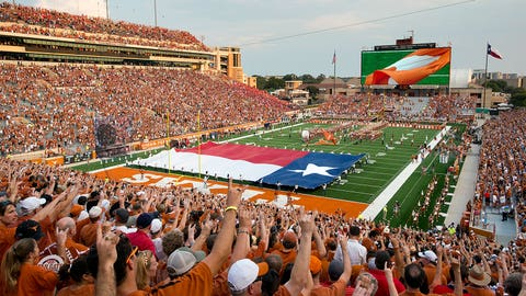 Texas Longhorns: 7,370 sq. ft; 134 x 55