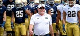 Podcast: Brian Kelly on how Notre Dame is reloading for a playoff run