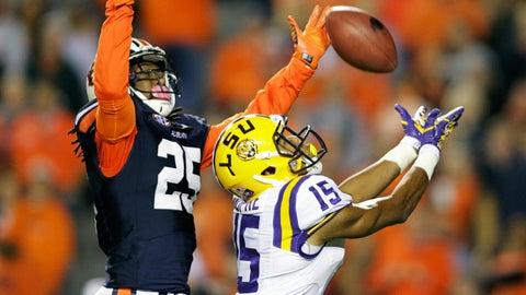 Quarterback Brandon Harris has plenty of help around him