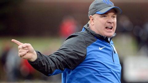 Kentucky coach Mark Stoops, $3,263,600