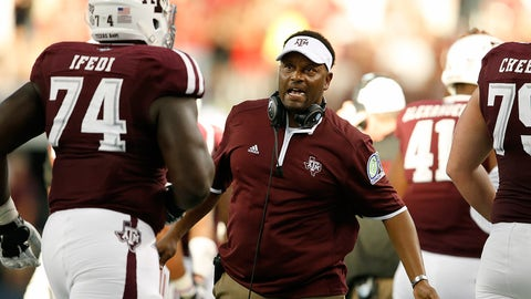 Texas A&M coach Kevin Sumlin, $5,000,000