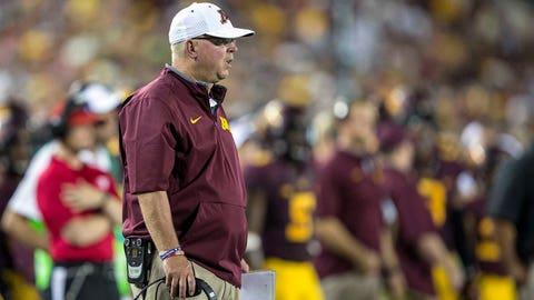 Minnesota coach Jerry Kill, $2,500,000