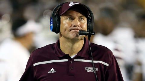 Mississippi State coach Dan Mullen, $4,000,000