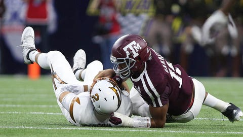 Cleveland will do its best to mess up the slam-dunk No. 1 pick of Myles Garrett but eventually will fall backwards into the right selection, for once