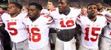 Meyer declines to name starting QB, doesn't think competition should be a distraction