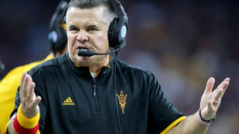 5. Pac-12 South: Arizona State (6-6, 3-6)